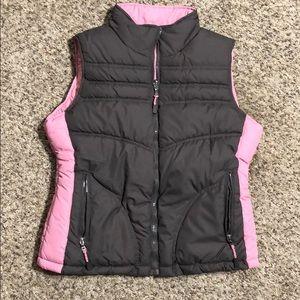 Woman's Reversible Puffer Vest